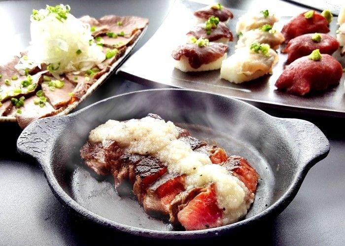 《銀座など》肉の祭典! 2980円で松坂牛のステーキや肉寿司が食べ放題