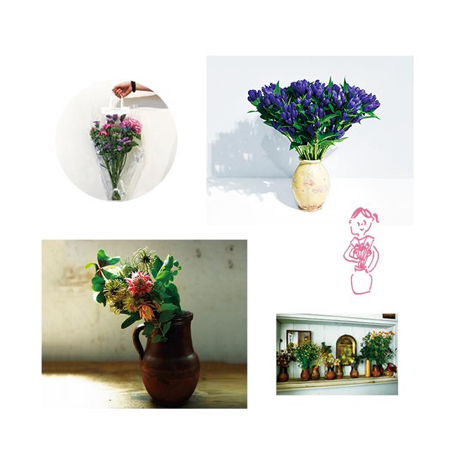 今日から部屋に、花を飾ってみる?[健康いろいろ、表参道 05]