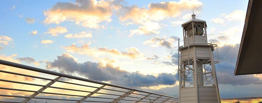 《神戸》阪神大震災を機に継承された「灯台」を17日限定で公開 神戸メリケンパークオリエンタルホテル