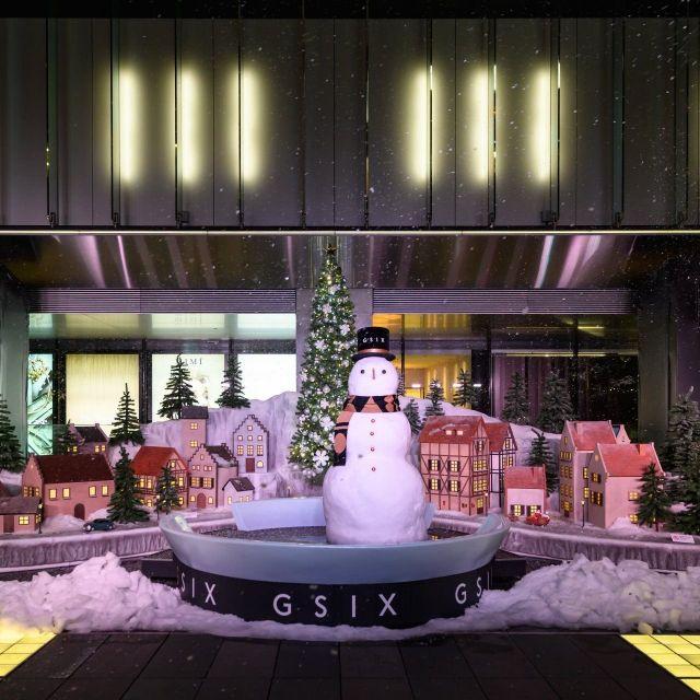 《銀座》銀座に雪!?  GINZA SIXのクリスマスイルミネーションが話題