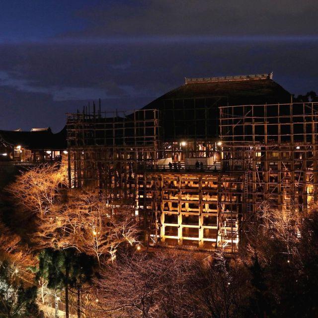 《京都》清水寺が春のライトアップ