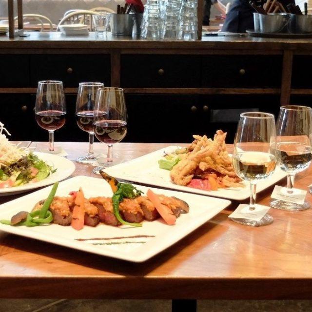 《京橋》カリフォルニアキュイジーヌとワインのマリアージュを楽しんで!