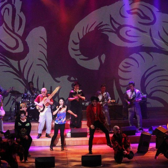 《京都》絵師、木村英輝がプロデュースする「琳派ロック」公演 26日~28日宮川町歌舞練場で