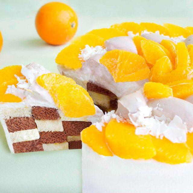 カフェコムサに3種の柑橘系ケーキが登場