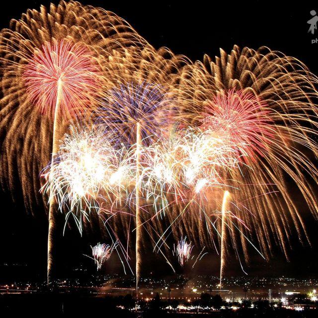 《山梨・市川三郷》8月7日の「花火の日」に開催 「神明の花火」