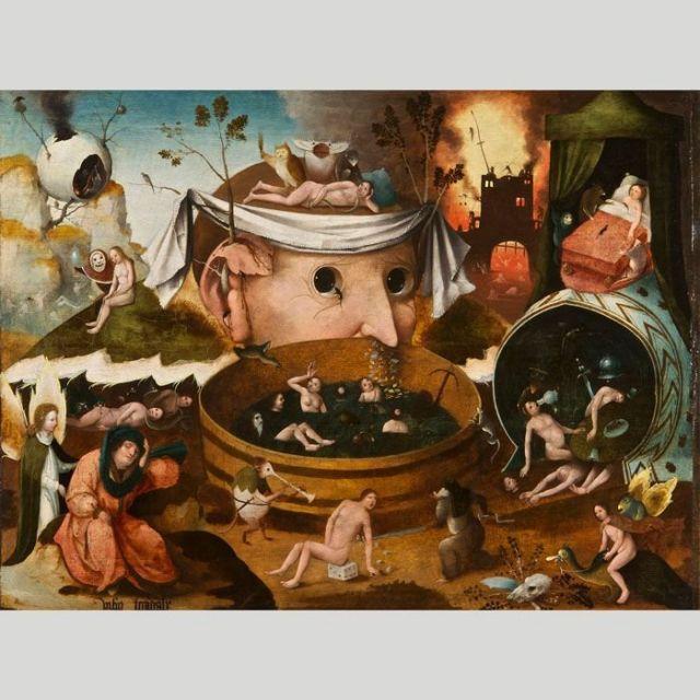 《渋谷》「ベルギー奇想の系譜」 幻想世界に見え隠れする死の影