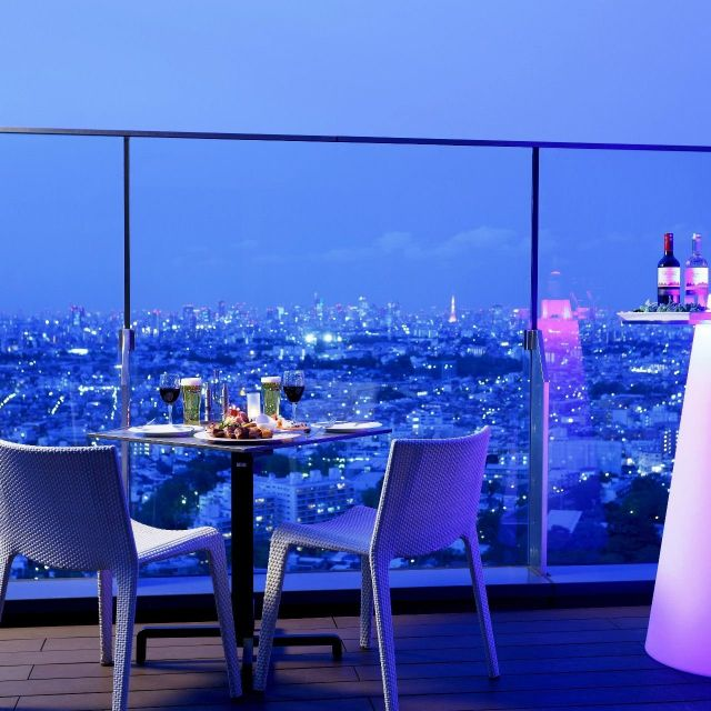 《二子玉川》地上130mの「天空ビアテラス」が8月1日オープン 二子玉川エクセルホテル東急