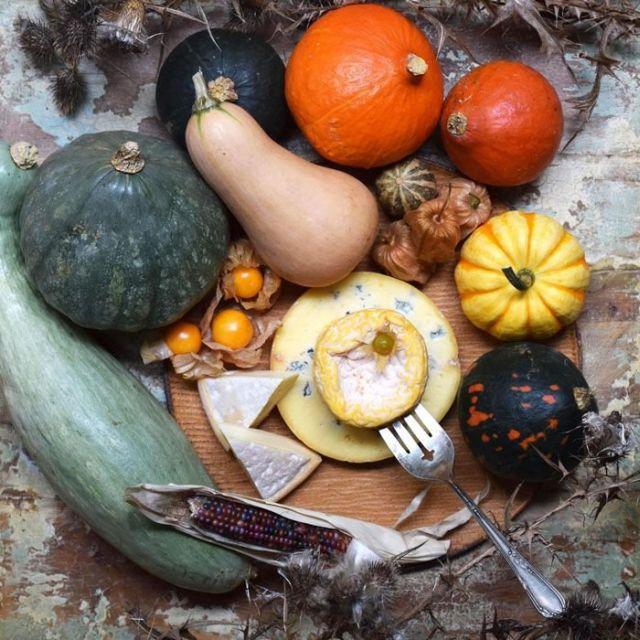 チーズや旬の食材で魅せる、自然派ハロウィンはいかが !?