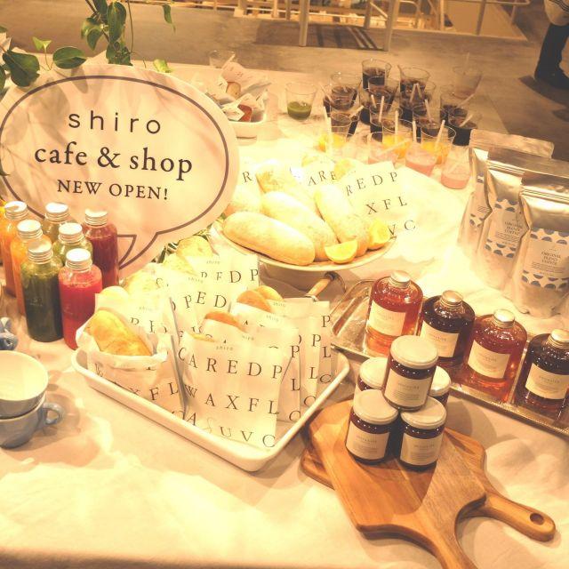 《自由が丘》コスメブランドshiro カフェ併設のショップが10日(木)にオープン