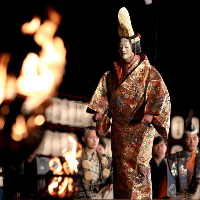 《京都》幽玄の世界へのいざない  「京都薪能」
