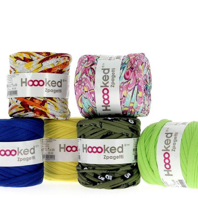 《国際展示場正門》人気の編み糸「Hooked Zpagetti」の新作が登場 2017 日本ホビーショーに出展中