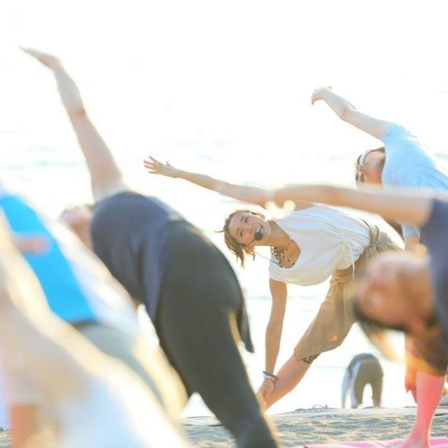 《逗子》開放感あふれる海辺のリゾートで、ヨガイベントに参加しよう!