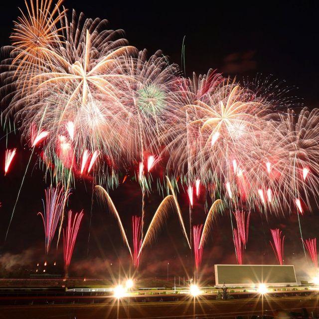 《京都》古都の夜空を彩る1万3000発 京都芸術花火