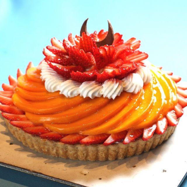 《銀座》カフェコムサがこどもの日ケーキとブラッドオレンジのケーキを販売