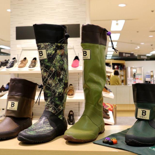 「日本野鳥の会」の長靴が大人女子に大人気