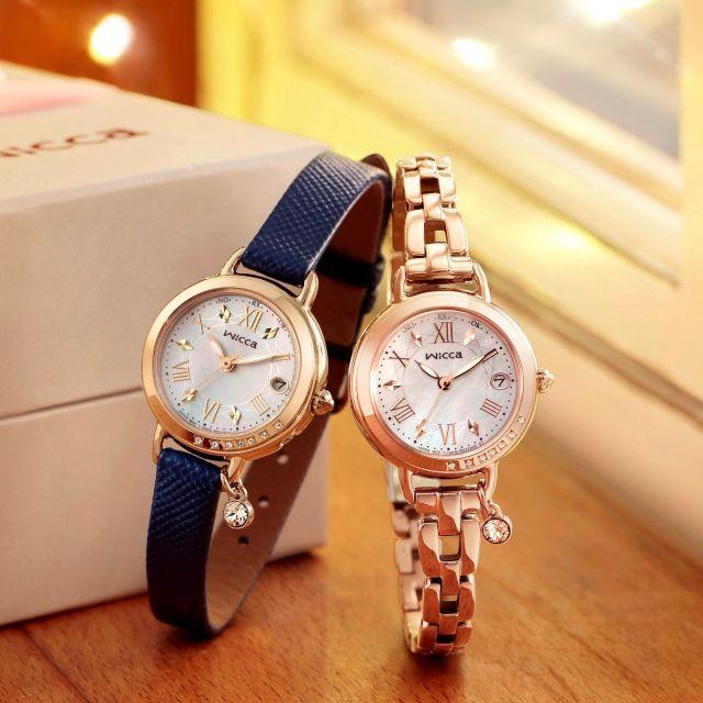 秋冬のおしゃれに、カスタマイズできる腕時計「wicca」の新モデルはいかが