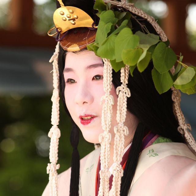 《京都》葵祭のヒロイン、斎王代が御祓の儀