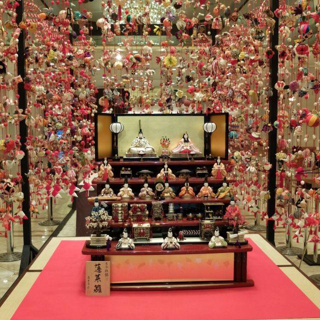 《新宿》大人女子のひな祭り、つるし飾りと50種類のカクテルを堪能