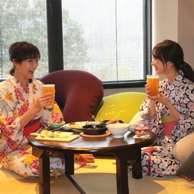 《湯河原》掛け流し温泉+本格カフェ+yogiboで超ユルユル時間を 「Gensen Cafe」がオープン