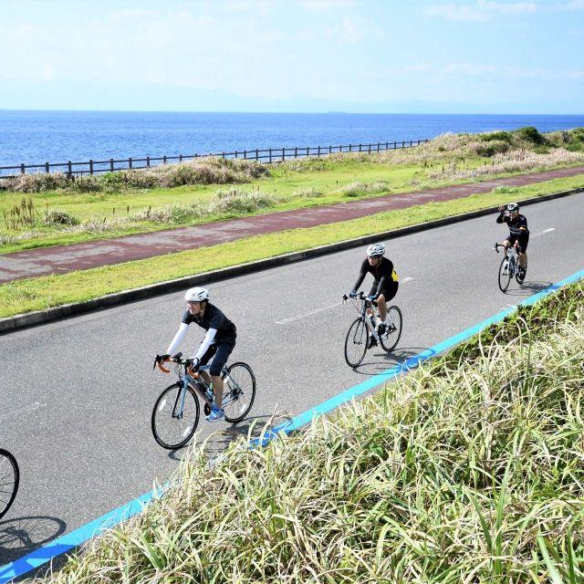《伊豆大島》三原山と海を眺めながら疾走 サイクルイベント「御神火ライド」が今年も9月8日(土)に開催