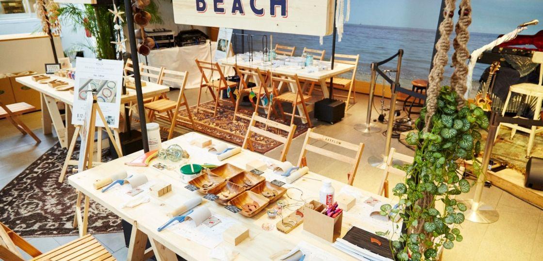 《代官山》ヨガにワークショップ、映画にご飯 ゆったりと過ごす大人の夏休みを「DAIKANYAMA BEACH」で