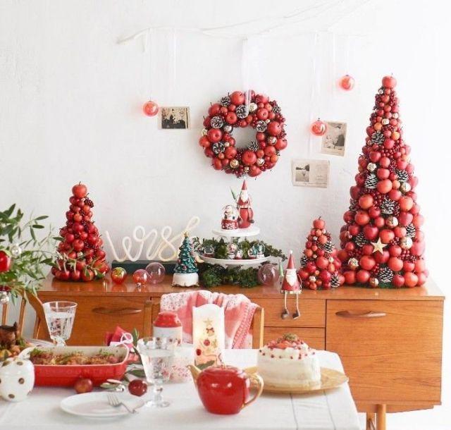 """真っ赤な""""りんご""""を主役に、幸せの実りを楽しむクリスマス!"""