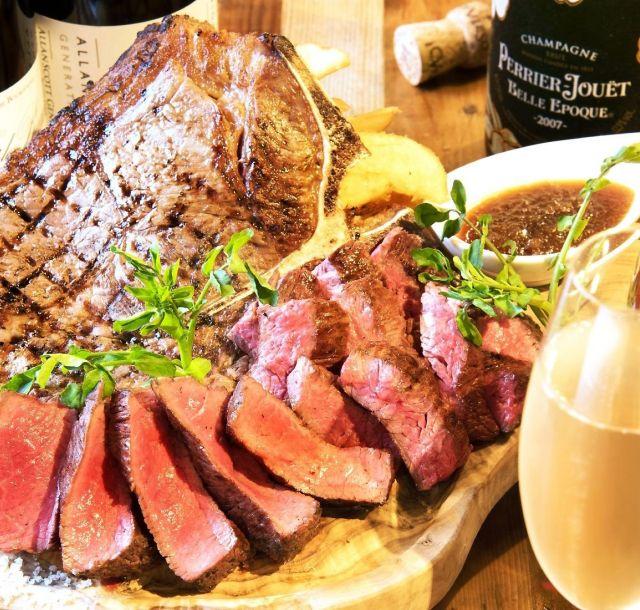 《神田》25日は肉バル「RUMP CAP神田店」へGO!! 開店2周年で塊肉ステーキ、Tボーンなどが半額