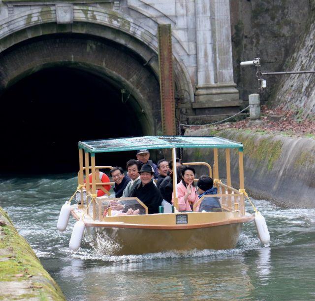 《京都》琵琶湖疏水をめぐる観光船が来春復活